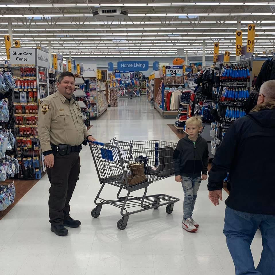 Shop with a sheriff