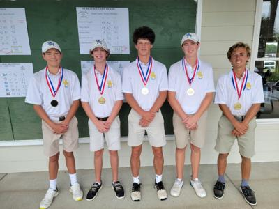 """St. Mary wins All """"A"""" Classic region golf title"""