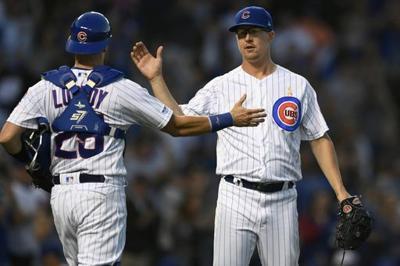 Rizzo's slam among 5 Cubs homers, Chicago rips Bucs 17-8