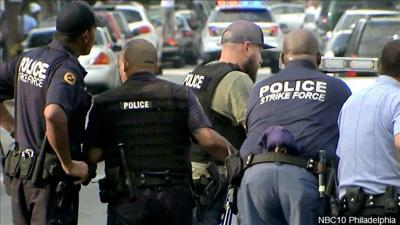 Police shot Philadelphia shooting