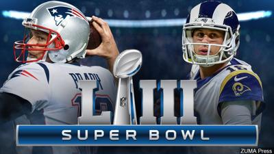 34f3803b New England Patriots will face Los Angeles Rams in Super Bowl LIII ...