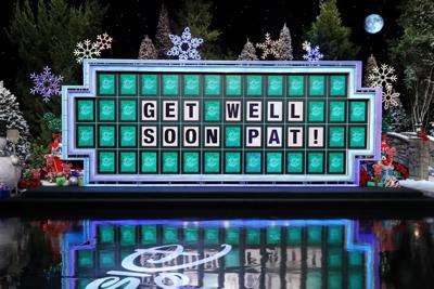 Wheel of Fortune get well soon Pat