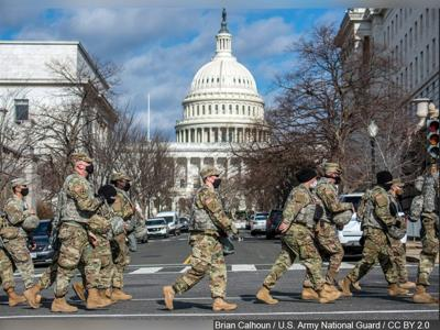 national guard at the capitol