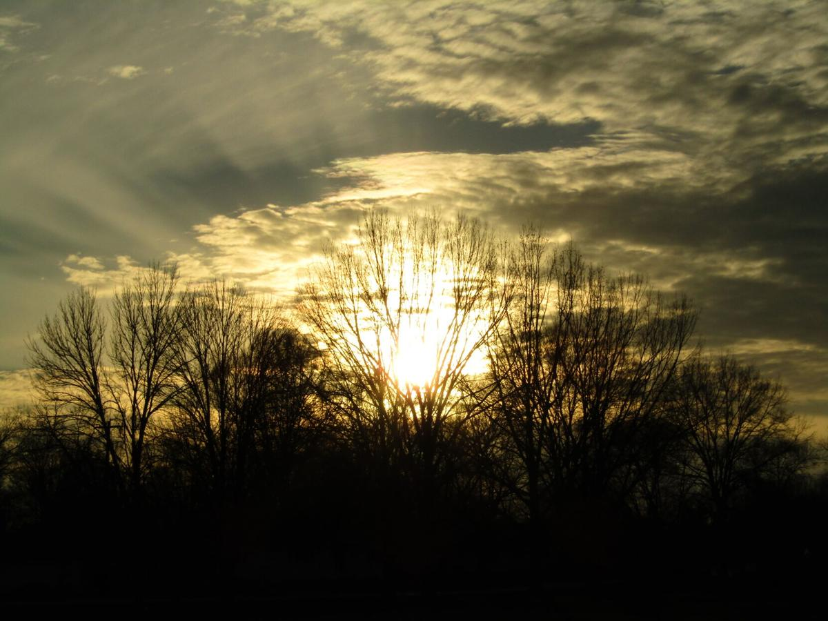 Sunset in Humboldt, TN, courtesy of James Gullage.