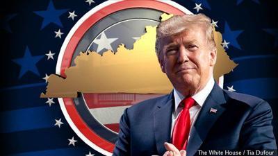 Trump, Kentucky