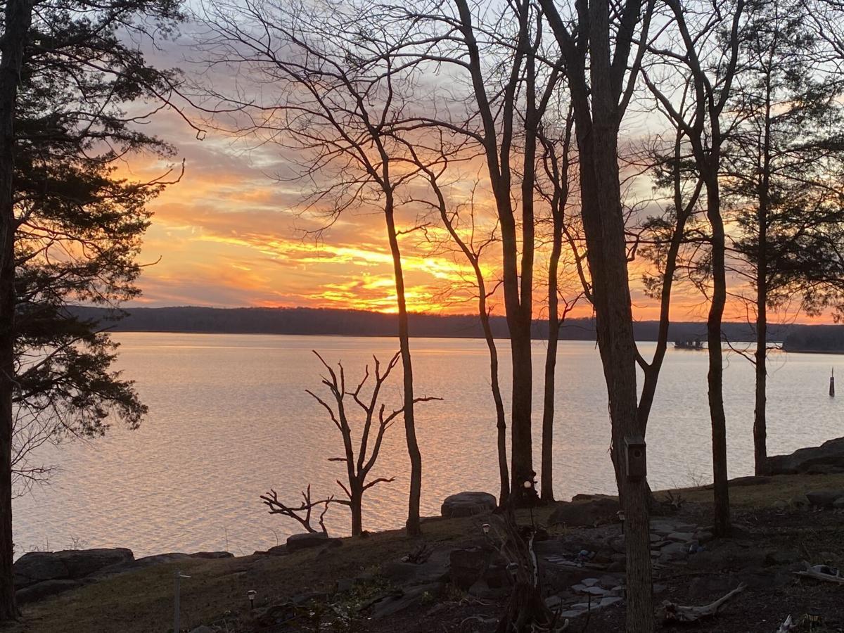 Sunset on Lake Barkley, courtesy of Dave Zobel.