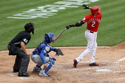 Castellanos, Reds top Cubs 13-12 in 10 innings