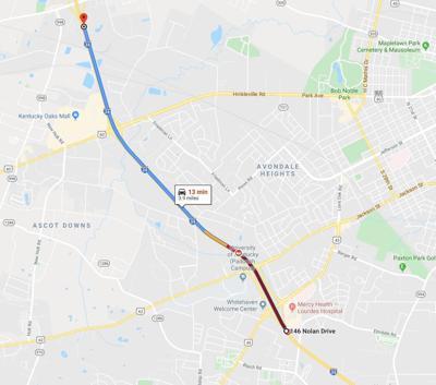 I-24 crash map