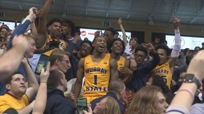 Racers win 3rd straight OVC title, beat Austin Peay 75-61