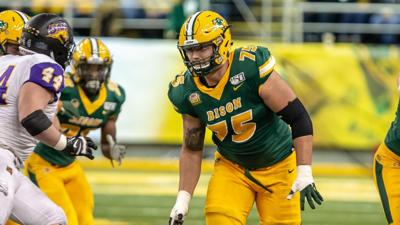 Titans draft Dillion Radunz to fill holes in offensive line