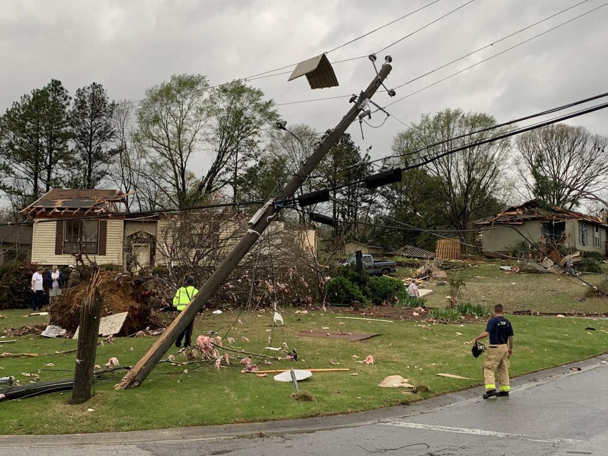 Pelham AL tornado damage