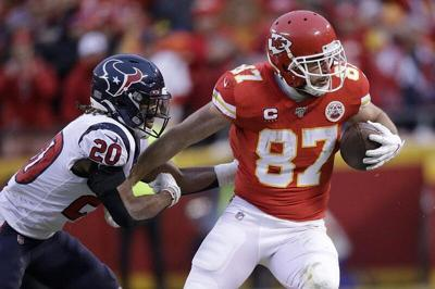 Chiefs TE Kelce rewriting record book during special season