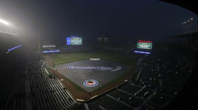Dodgers-Cubs game postponed, split doubleheader Tuesday