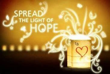 Spread the light of hope