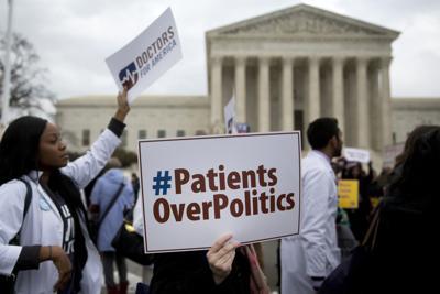PATIENTS OVER POLITICS