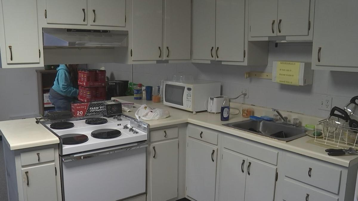 Carbondale warming center kitchen