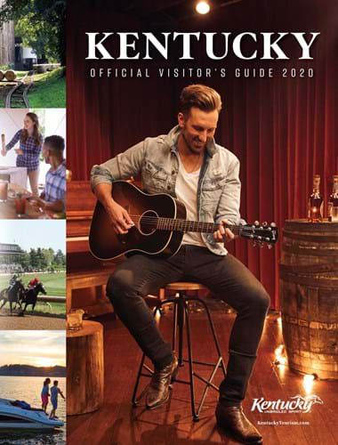 Kentucky Visitor's Guide 2020 cover