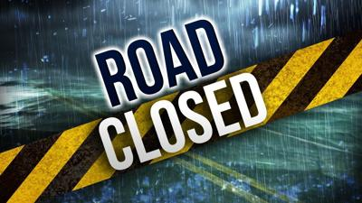 road closed flood rain mgn