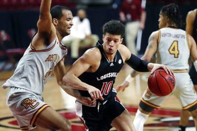 Johnson scores career-high 20 in Louisville's 76-64 victory