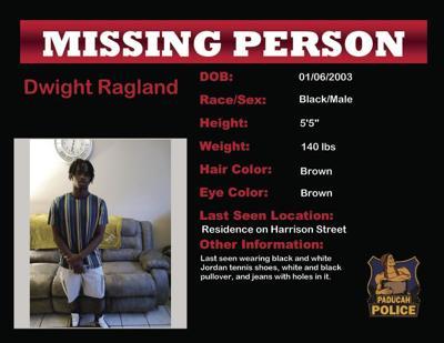 Dwight Ragland missing person