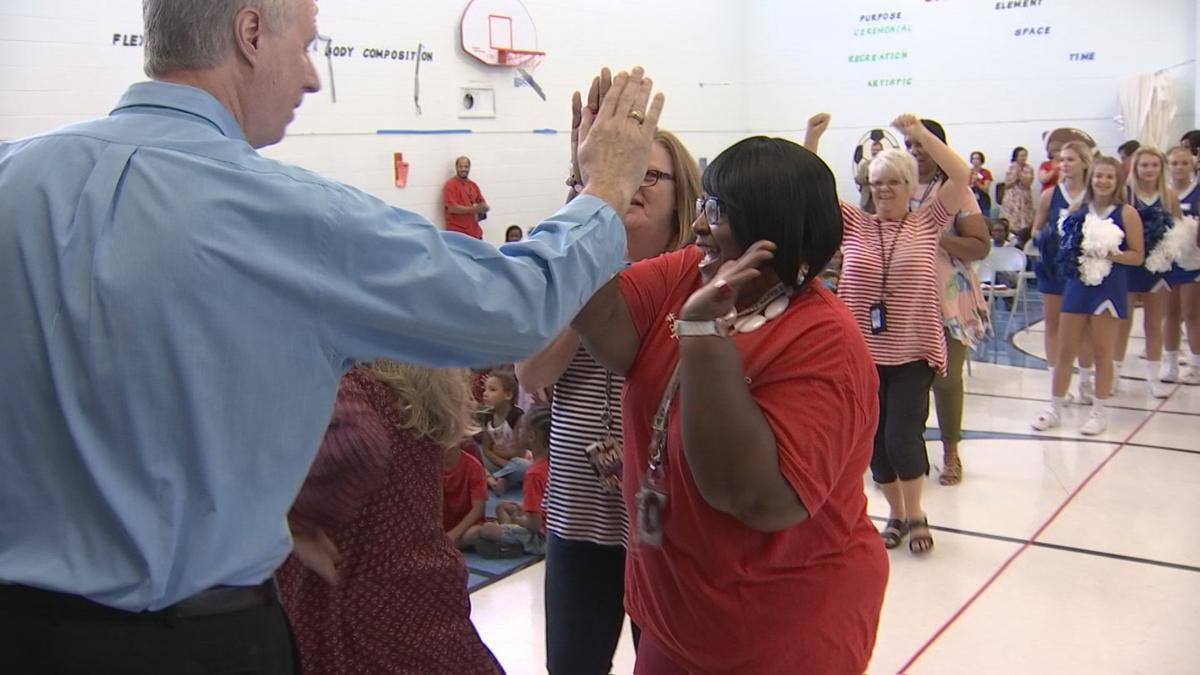 McNabb Elementary receives donation