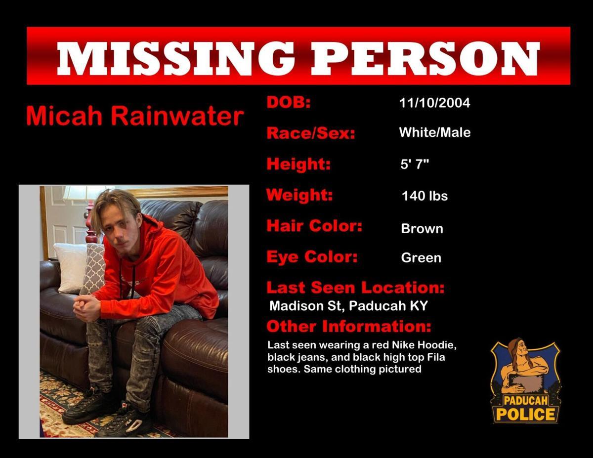 Micah Rainwater missing
