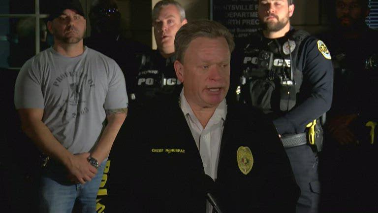 Huntsville Police Chief Mark McMurray