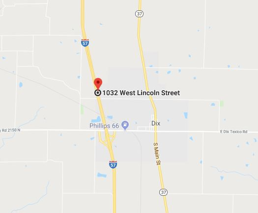 Four injured in three car crash on I-57 near Dix, Illinois