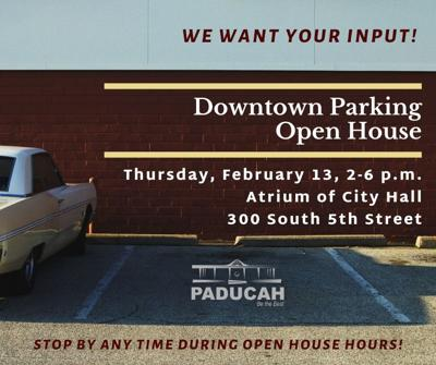 Downtown parking open house