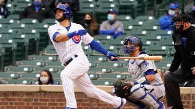 Kershaw goes 1 inning in shortest start, Cubs top Dodgers