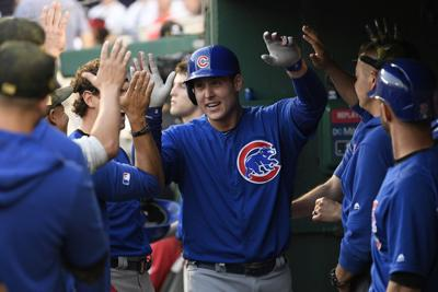Cubs 1B Rizzo (back) out again, may miss entire Mets series