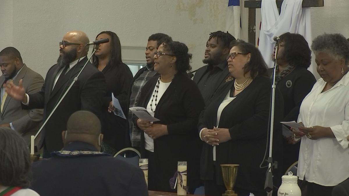 Harrison Street Baptist Church Choir