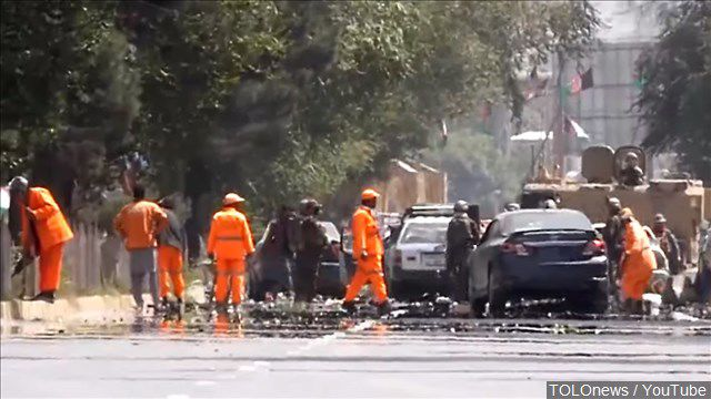 Kabul car bomb killed americans