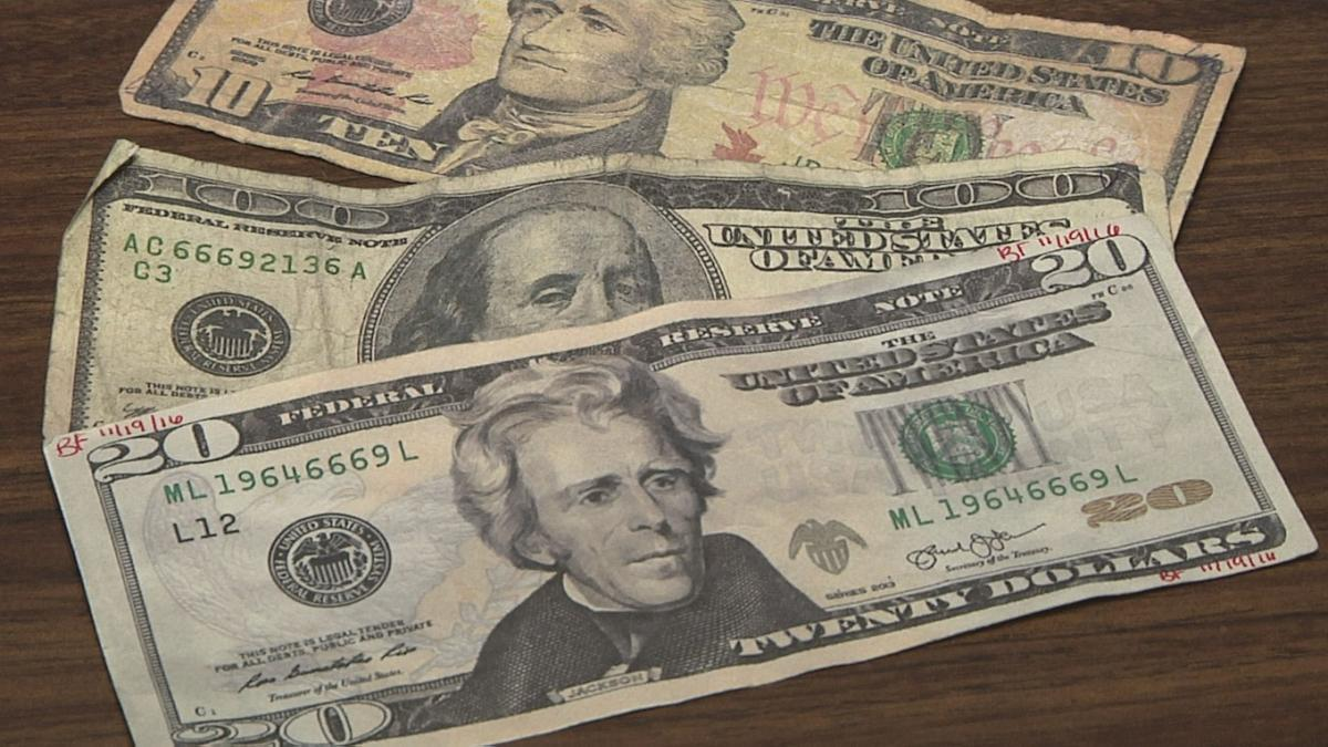 Counterfeit money is circulating