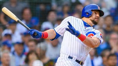 Schwarber's slam powers Cubs to 10-5 win over Brewers