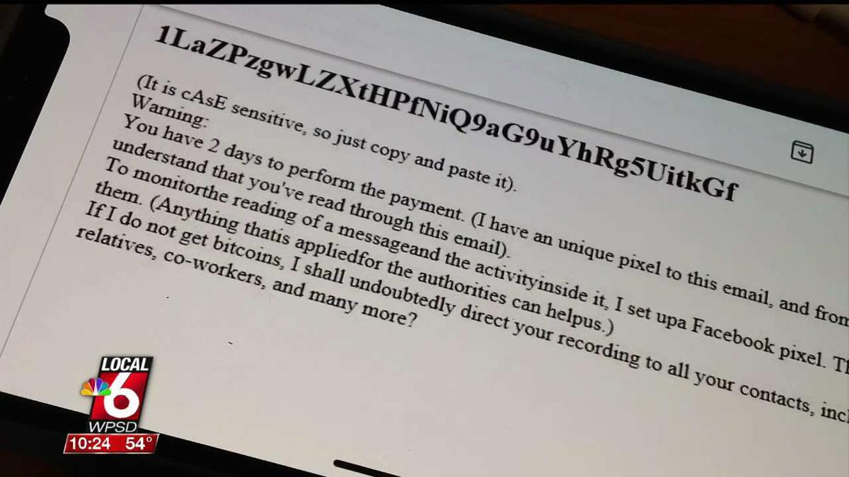 Sextortion' email scams growing in number | News | WPSD Local 6