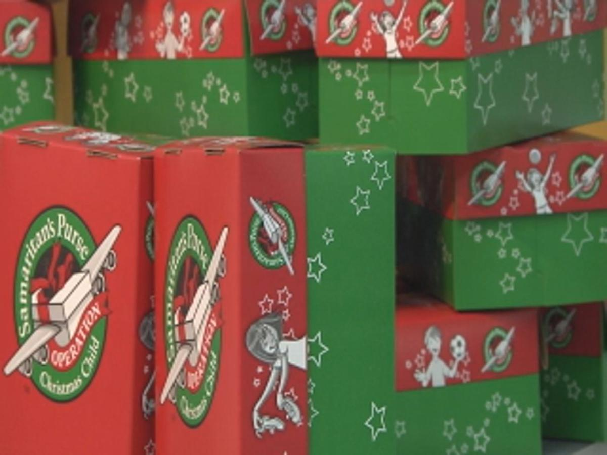 Operation Christmas Child Boxes.Operation Christmas Child Box Recipient Explains Big