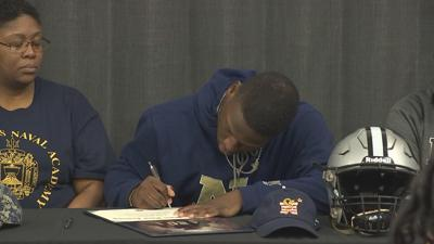 Jordan signs with Navy during early signing period