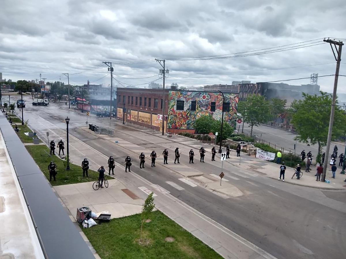 Minneapolis law enforcement 5/30/20
