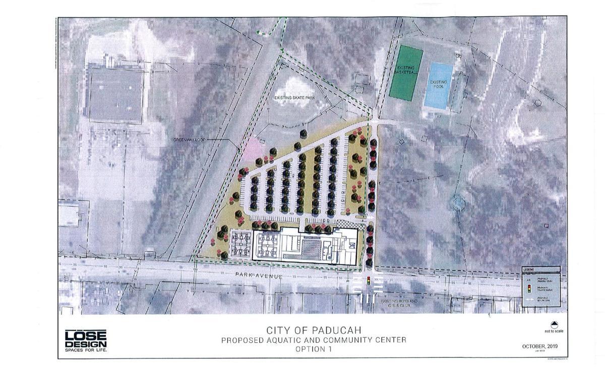 Aquatic site plan