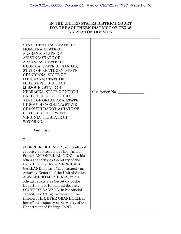 TX and MT v. Biden Complaint.pdf