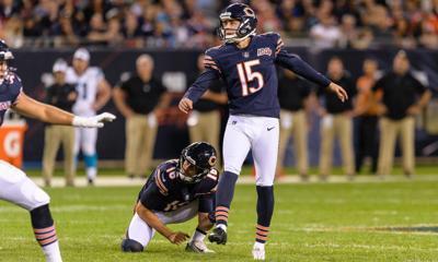 Bears release Elliott Fry, leaving Eddy Pineiro as kicker