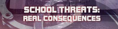 School threats banner