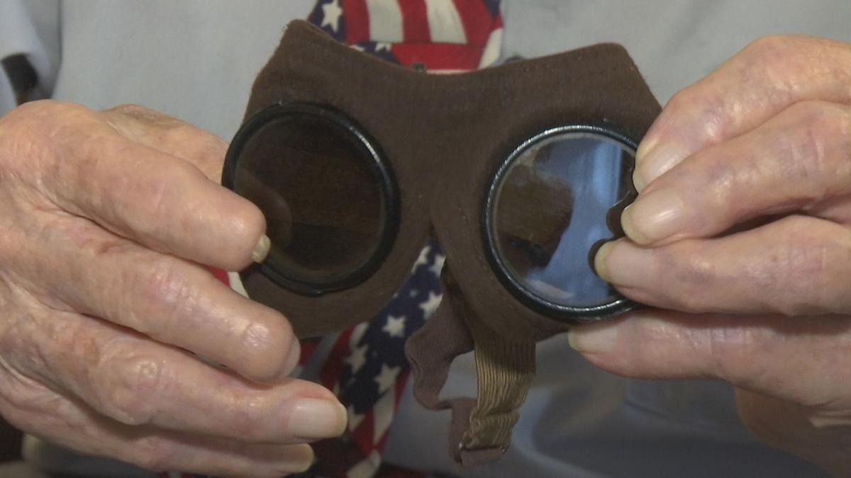Roy Duncan German WWII goggles