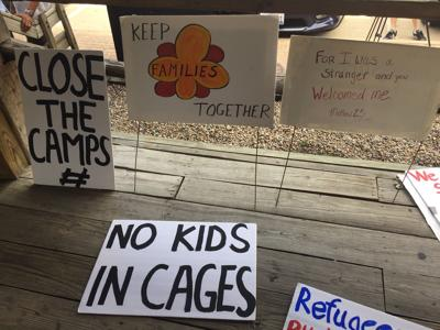 Immigration rights groups holds rally in Carbondale as ICE