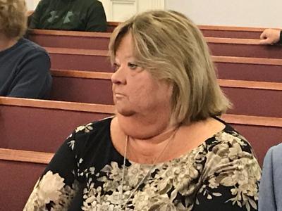 Nancy Bock in court