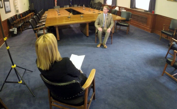 Secretary of State Adams interviewed by Local 6's Jennifer Horbelt