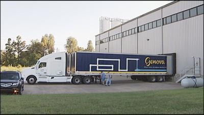 Genova loading dock