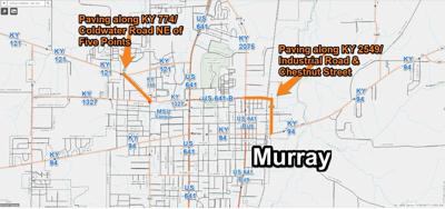 Murray paving project KY 774 and 2549