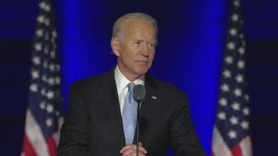Joe Biden victory speech